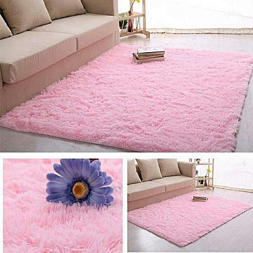 Buy Generic Super Soft Modern Shag Area Silky Smooth Rugs Living ...