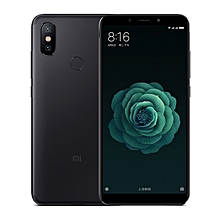Xiaomi Mi A2, 4GB+64GB, Global Official Version, AI Dual Back Cameras, Fingerprint Identification, 5.99 inch Android One Qualcomm Snapdragon 660 AIE Octa Core up to 2.2GHz, Network: 4G, VoLTE, Dual SIM(Black)