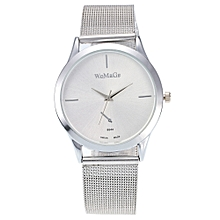 2017 New Fashion Female Clocks Women Luxury Quartz Watch Rose Gold Watch D
