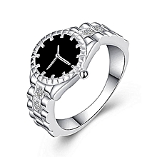844e5b42f031ef Explosive new watch ring European and American jewelry supply Silver-plated  jewelry-Silver-