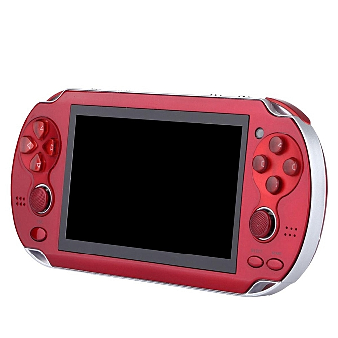 4 3'' PSP Portable Handheld Game Console Player 300 Games Built-in Video  Camera - Red