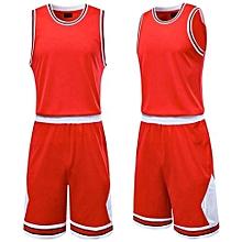 70c097ba2 Longo Hot Sale Customized Fashion Brand Wholesale Children And Men s  Basketball Team Sport Jersey Set-Red