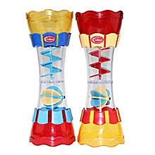 Cikoo New Baby Bath Toys Scoop Water Swimming Beach Rotating Cylinder Flow Observation Cup-