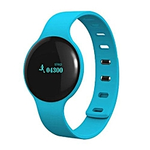 Smart Wristband Pedometer Bluetooth Bracelet Sports Fitness Tracker Smartband Waterproof For Iphone Android Phone Blue