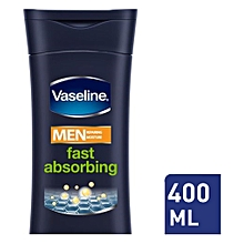 Men Body Lotion Fast Absorbing 400ml.