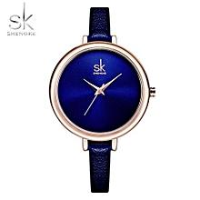 Watches Women Brand Fashion Watch Slim Leather Quartz Clock