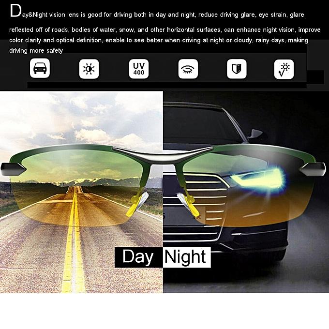 cc0501069c0 ... UV Day Night Vision Men s Polarized Sunglasses Driving Pilot Mirror Sun  Glasses ...