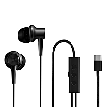 Type-C Version ANC Hybrid Noise Cancelling Earphone - Black