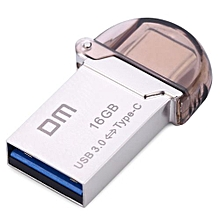 DM PD019 16GB USB 3.0 Universal Metal Micro USB Type - C 3.1 Interface U Disk