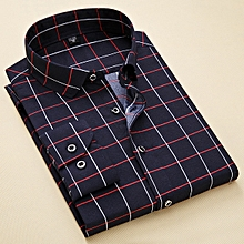 New Fashion Men Casual Shirts Men Oxford Dress Shirt Youth Style-H876