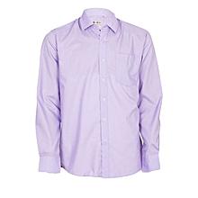 Purple Long Sleeved Men's Official Shirt