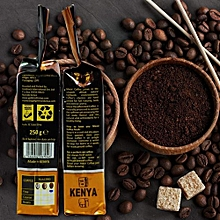 Moka Espresso Dark Roast Coffee Beans  - 250gram ( 2 packets )