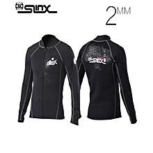 SLINX Diving Jacket 2mm Sunscreen Warm Front Zipper Long Sleeve Thin Section Split Diving Swimwear