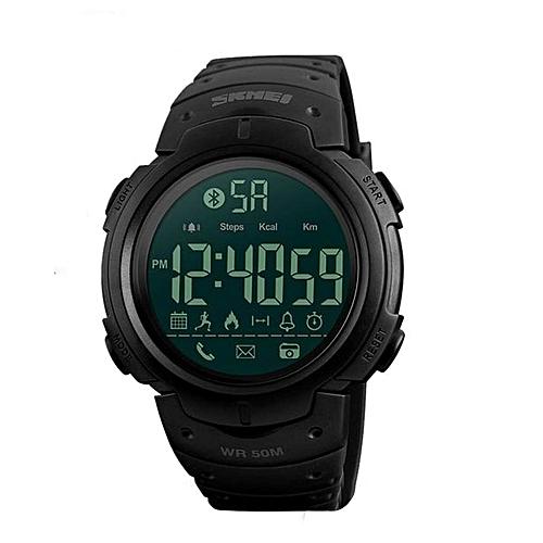 4b9c71b92aca36 Skmei Sport Fashion Pedometer Remote Camera Calorie Bluetooth Smart Watch  Reminder Digital Wristwatches