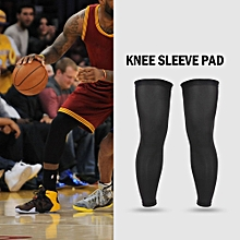 Lixada 2PCS Long Leg Sleeve Basketball Football Knee Pad Sports Running Cycling Hiking Leg Sleeve