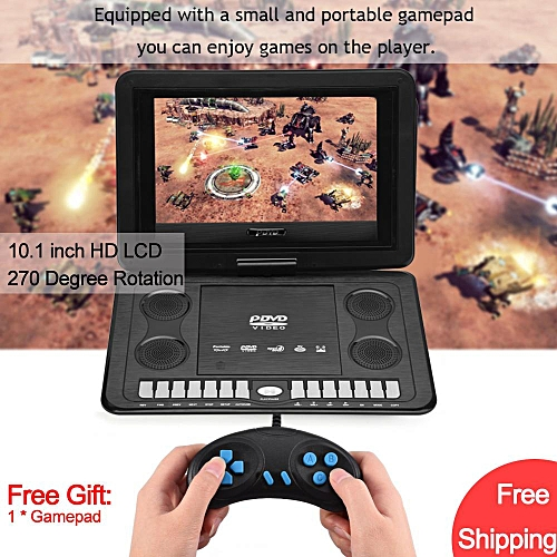 Generic Free Shipping139inch HD TV Portable DVD Player 800480 Resolution 169 LCD Screen 110 240V UK Plug Best Price