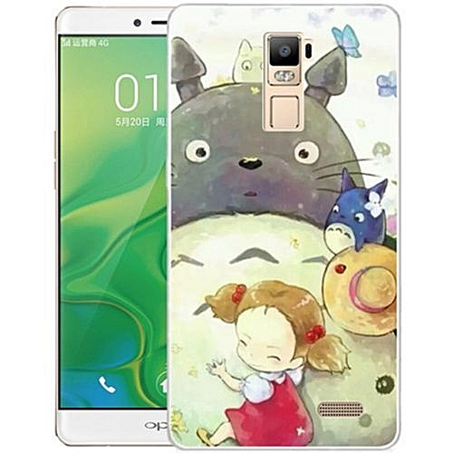 """For OPPO R7 PLUS/R7 PLUSM 6.0"""" Inch 3D Stereo Relief Flower Painted TPU"""