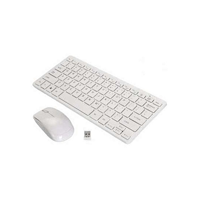 bd715ca9f04 2.4G Wireless Keyboard and Mouse Combo for Mac Dell Hp Lenovo PC Desktop  Computer and