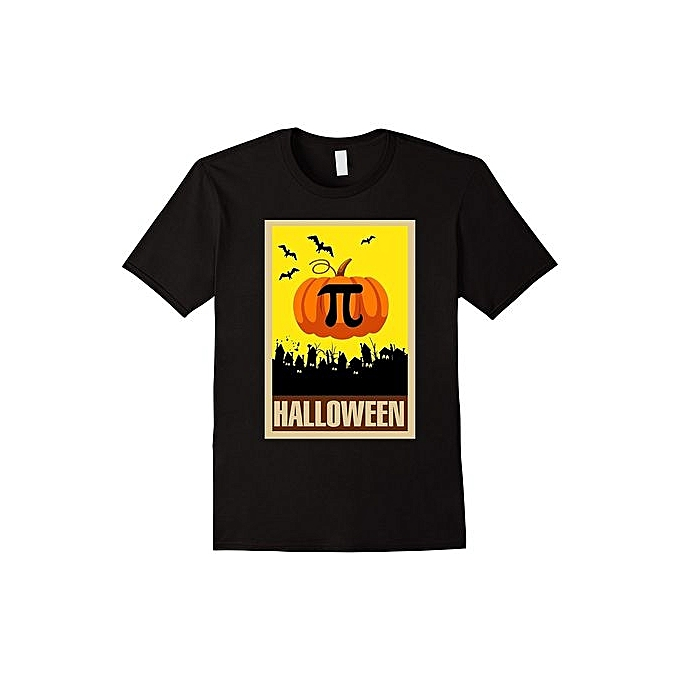 9f75bb3b Fashion Men's T-Shirt Pumpkin Pi Shirt Vintage Pumpkin Pi Funny Math Gift  Halloween Shirt