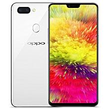 R15 6.28-inch OLED (6GB, 128GB ROM) Android 8.1 Oreo, 16MP & 5MP + 20MP, 3450mAh, Dual Sim 4G LTE Smartphone - White