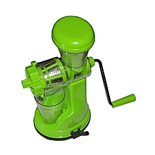 Handheld Fruit and Vegetable Juicer & Extractor - Green