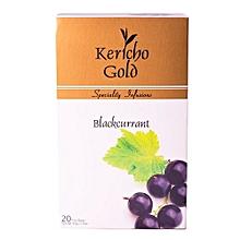 Kericho Gold 20 B/Currant T/Bags - 40G