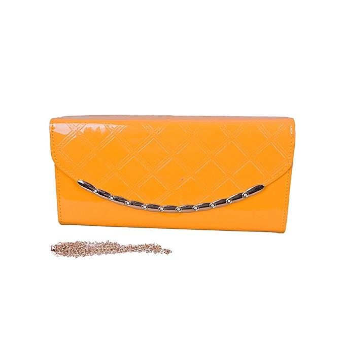 Buy Generic Yellow Clutch Bag.   Best Price   Jumia Kenya 6ab946da84f