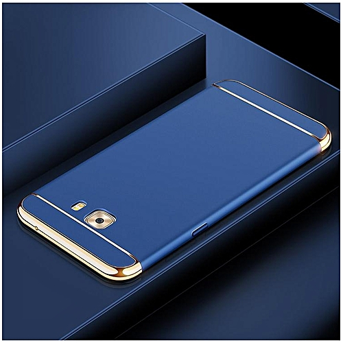 check out 6dffe 66b99 For Samsung Galaxy C7 Pro Case 3 In 1 Luxury Gold Plating Armor All  Inclusive Cellphone Shell Back Cover Case For Samsung C7 Pro Handphone  Casing ...