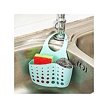 Portable Hanging Silicone Kitchen Gadget Storage Organizer, Sponge Sink Holder Bathroom