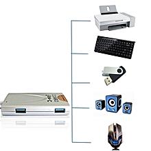 Type-C Combo 6 Slots Hub USB Card Reader USB3.0 Hub Charging HT