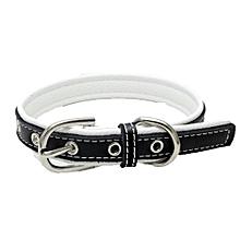 Exquisite Adjustable Buckle Dog Puppy Pet Collars WH/L