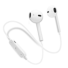 Bluetooth Earpiece Muffler Anti-Sweat Sports Earpiee White