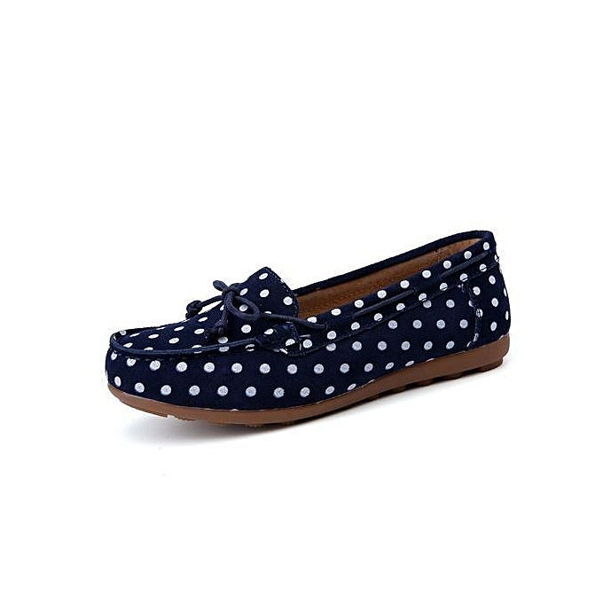 1a07d03f37a37 Fashion Womens Casual Bowknot Moccasins Driving Loafers Slip On Flat ...