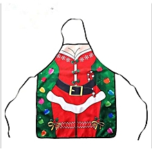 Washable Reusable Christmas Apron For Party Stage Show Christmas Decoration(B)