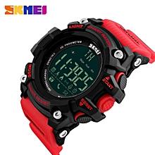Sport Waterproof Bluetooth Smart Watch Phone Mate For Smartphone -Red