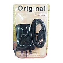 USB Model 3-pin Charger - Black