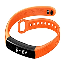 CO Band Bracelet Watchband For Huawei Honor Band 3 oct.31 Huawei Glory-orange