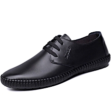 Formal Shoes 2018 High Quality Leather Business Casual Shoes Men Dress Office Luxury Shoes Male Breathable Oxfords Men Formal Shoes Shoes