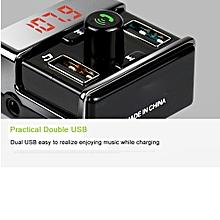 Xiuxingzi_Wireless Bluetooth Car Kit MP3 Player FM Transmitter Modulator USB SD LCD Remote