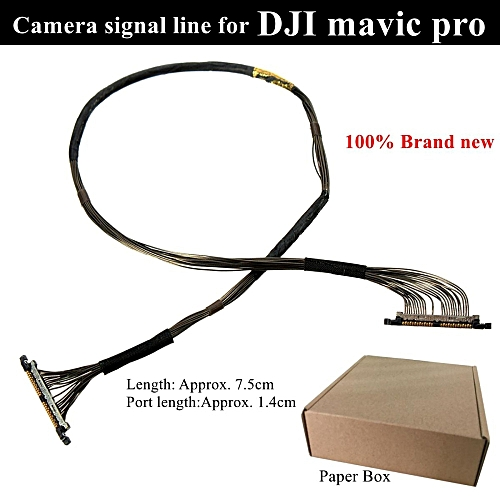 53b046b0aa7 UNIVERSAL Black PTZ Camera Signal Line Cable Transmission Line For DJI  Mavic Pro