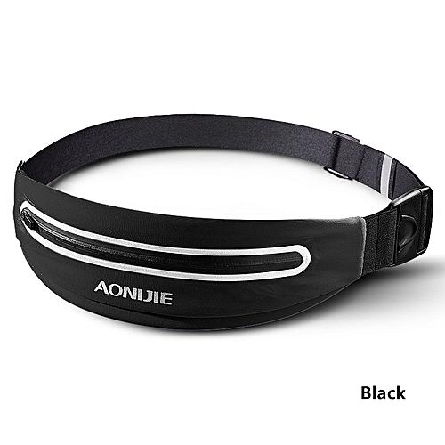 b425d42958a4 Running Waist Bag Men Women Gym Sport Bag Trail Unisex Running Belt Fanny  Waist Pack For Phone Running Accessories(Black)