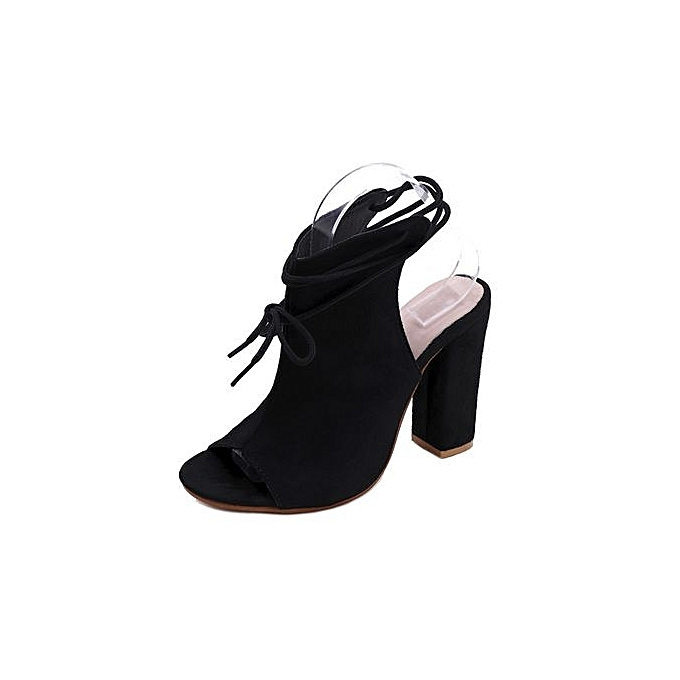 3b353763f31 Bliccol High Heel Shoes Women s Shoes Platform Ladies Sandals Ankle Strap  Peep Toe High Heel Shoes ...