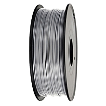 340m 1.75mm PLA 3D Printing Filament Biodegradable Material - Silver