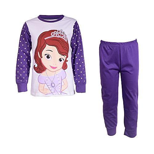 3e9e7da5ac42 Fashion Sofia the fast Fashionable Pyjamas Set-White  Purple   Best ...