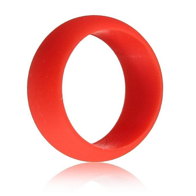Buy Fashion Ringcone 9mm Mens Rubber Silicone Wedding Ring Band