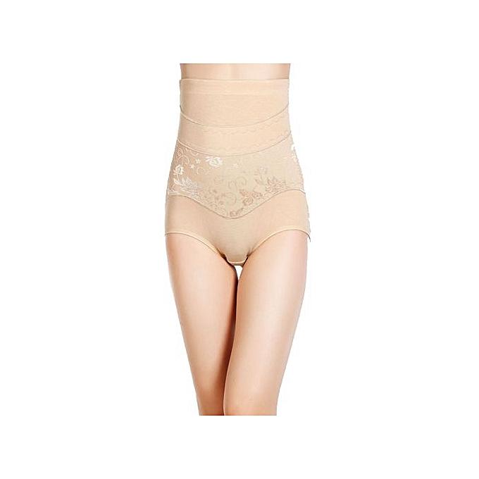 f6467e58fed High Waist Cincher Shapewear Corset Tummy Control Abdomen Pant Underwear BG  L