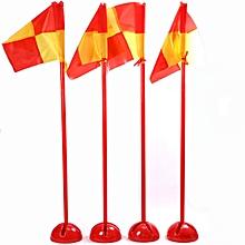 Detachable Soccer Corner Flag Football Training Base Water Injection Multifunction Flag
