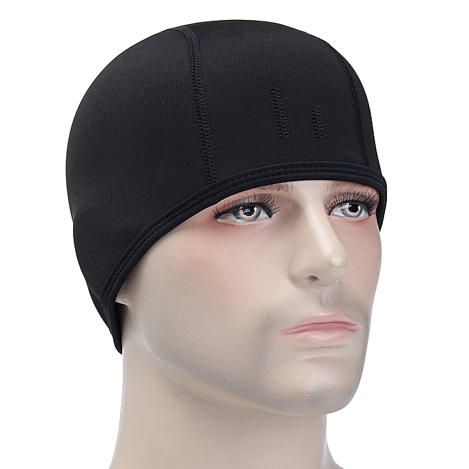 11d20a3b04fc7 Cycling Running Sports Outdoor Hat Men Fleece Thermal Winter Black Ear Warm  Cap ...