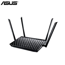 RT-AC1200 Dual-Band Wifi Gigabit Router 1200Mbps With 4 Antenna For Home Use-black