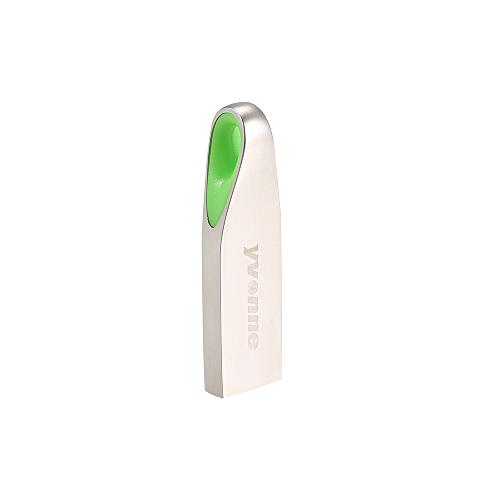 yvonne Metal USB Flash Drive Pen Drive 32G Memory Stick Pendrives Gift